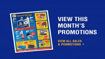 This month's promotions